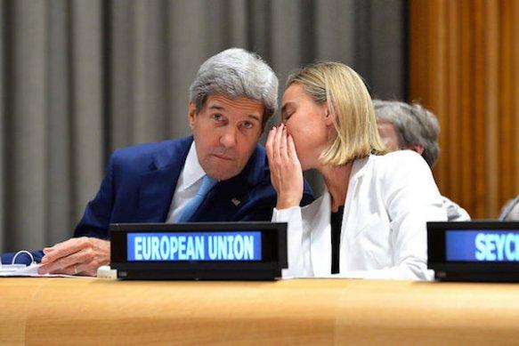 Mogherini-Kerry