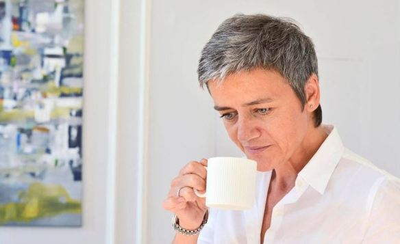 Vestager coffee